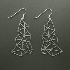 Delaunay Earrings - CUT by Yumi Endo    http://adornmilk.com
