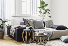 Mix and match exclusive designs on the bed or on the sofa to create a cosy atmosphere #urbanara #home #design #wishlist