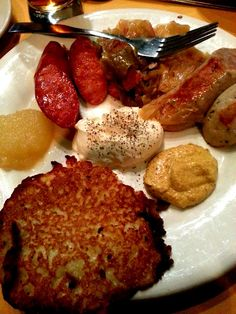 German Food and lots of it!
