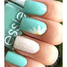 False nails have the advantage of offering a manicure worthy of the most advanced backstage and to hold longer than a simple nail polish. The problem is how to remove them without damaging your nails. Marriage is one of the… Continue Reading → Teal Nails, Fancy Nails, Cute Nails, My Nails, Teal Nail Art, Turquoise Toe Nails, Trendy Nails, Summer Shellac Nails, Bling Nails