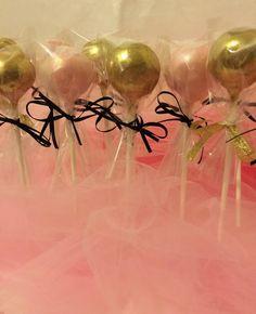 1 Dozen Glitter cake pops by BesosBakeryBoutique on Etsy