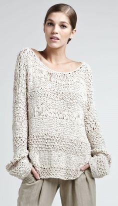 Donna Karan | Textured Top..