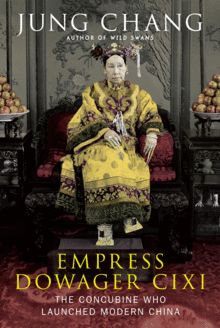 "Another side of a much-demonized female ruler, last emperor of China: ""Empress Dowager Cixi (1835-1908).. ruled China for decades  &brought a medieval empire into the modem age. At age 16, in a nationwide selection for royal consorts, Cixi was chosen as one of the emperor's numerous concubines &sexual partners. When he died..Cixi launched a palace coup & made herself the real ruler of China ..."" the ancient country attained virtually all the attributes of a modern state: industries…"