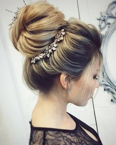 Long wedding updo hairstyles from tonyastylist