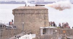 Launch of 'The Martello Towers of Dublin' Cannon, Mount Rushmore, Ireland, Tower, Sea, Mountains, Kitchen, Travel, Baking Center