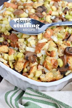 Blogger Recipe: Classic Stuffing | Crunch Pak Blog