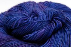 Hand dyed Merino Cashmere Sock Yarn  Queen's by ColdSpringsShop