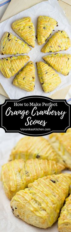 If you want a delicious recipe that is easy to make, try these Orange Cranberry Scones. They are incredibly soft and crumbly with amazing luscious flavors of cranberries and oranges.