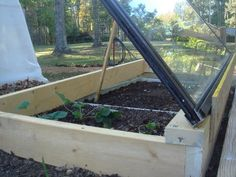Grow All Winter In a Cold Frame Made From Recycled Materials