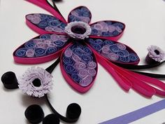 quilling card made on order