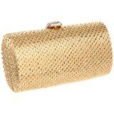 Magid 6687 Clutch,Gold/Gold,One Size