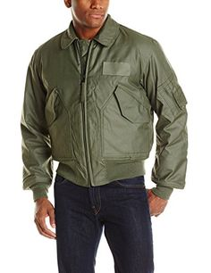 This mil-spec flight jacket is the one currently issued to U.S. Air force pilots under a contract with the department of defense. Made here in the USA, the jacket is engineered to perform in the tight quarters of a cockpit and stand up to adverse conditions. The fire-resistant Nomex shell is...  More details at https://jackets-lovers.bestselleroutlets.com/mens-jackets-coats/lightweight-jackets/cotton/product-review-for-alpha-industries-mens-nomex-45-p-fire-resistant-mil-spe