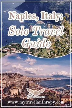Planning a vacation to Naples, Italy? This travel guide to solo travel in Naples Italy includes transportation in Naples, day trips from Naples Italy, where to eat in Naples, and where to stay in Naples. | Naples Italy travel guide | Naples Italy solo travel | Naples Italy beautiful places | Italy solo female | Italy solo travel | traveling to Italy solo | Italy alone solo travel Solo Travel Tips, Europe Travel Tips, Travel Abroad, European Travel, Italy Travel, Travel Guides, Places To Travel, Travel Destinations, Travel Trip
