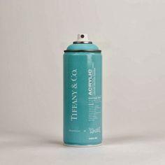 antonio brasko x tiffany and co : acyrlic spray can