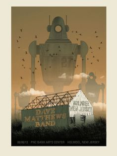 A New Art Print and Some Concert Posters by Methane Studios