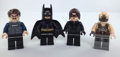 2012 The Dark Knight Rises movie LEGO released The Bat vs. Bane