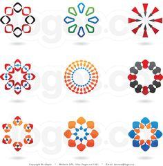 circular logo - Google Search