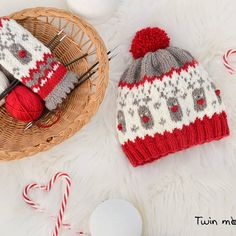 Free knitting patterns and crochet patterns by DROPS Design Baby Hat Knitting Patterns Free, Fair Isle Knitting Patterns, Free Pattern, Crochet Patterns, Knitting Yarn, Free Knitting, Free Crochet, Drops Design, Drops Baby