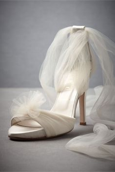 Auroral Vapor Heels in SHOP The Bride Bridal Shoes at BHLDN