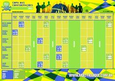 Calendário da Copa das Confederações (clique e imprima)