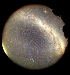 From horizon to horizon, the night sky above Loomberah, New South Wales, Australia was photographed by astronomer Gordon Garradd on March 22, 1996.