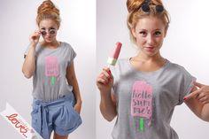 Wir freuen uns so! Dürfen wir euch vorstellen- unsere neue Basic/Print-Shirt Kollektion:  Unkomplizierte bequeme Baumwoll-Jerseyshirts, flexibel kombinierbar mit all deinen Lieblingssachen!...