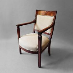 Timothy Langston - An Empire Period Fauteuil - Desk Chair
