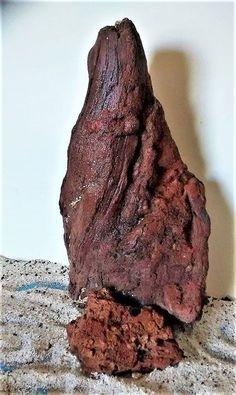 "Red Lava Rock Mountain 11.5""x6""  Porous Plant Friendly Castle Rock WYSIWYG #RD38 #Unbranded"
