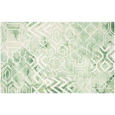 Safavieh Hardin Geometric Dip-Dyed Wool Rug, Multicolor
