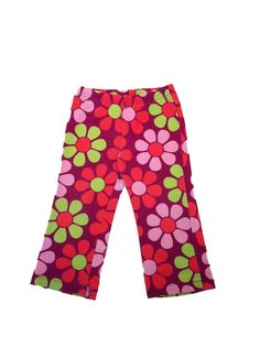 Girls Flowered Leggings that are cute and colorful at www.themunchkinmarket.com