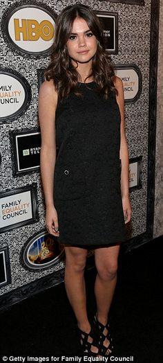 Maia Mitchell + dress