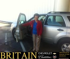 #HappyAnniversary to Connie Adam on your 2010 #Ford #Escape from Scott Monroe at Britain Chevrolet Cadillac!