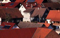 Solar cell roofing shingles for houses. http://www.domestic-solar-panels.info/solar-panel-shingles.html