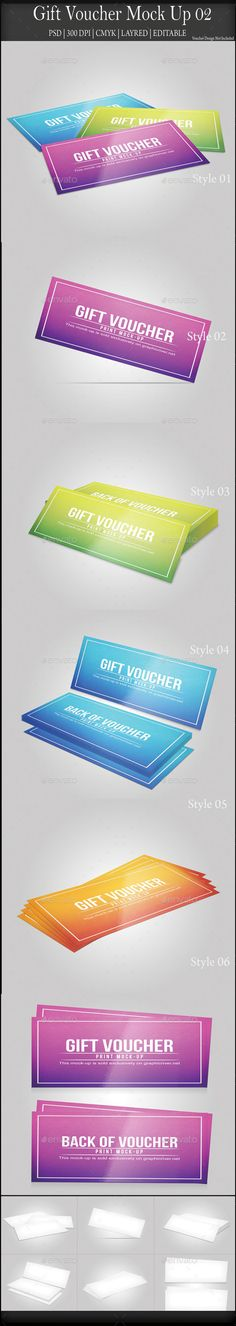 Gift Voucher MockUp | Download: http://graphicriver.net/item/gift-voucher-mock-up-02/8828619?ref=ksioks