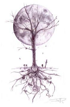 Tree Of Life Tattoo Designs | Junkies Downward Spiral by ~GreencardLove on deviantART