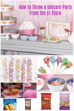 Unicorn Birthday Party Cake Ideas
