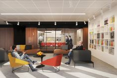 Law Firm Office Interior Design | HAAST Architectural Bureau | Relax Zone Design