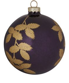 ANTIQUE PURPLE AND GOLD