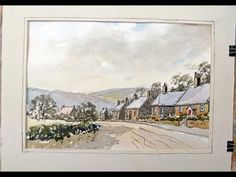 Watercolours the easy way with Alan Owen .no 1 - YouTube