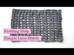 Learn How to Knit an Easy Lace Stitch with Staci from Very Pink Knits! | Lion Brand Notebook