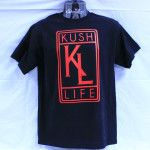 KUSH LIFE Log Red on Black