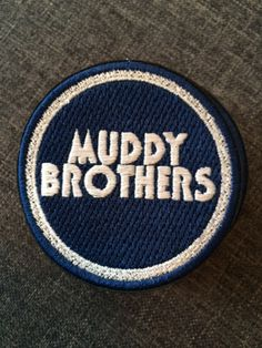 Läjä Records - Patches variados Muddy Brothers