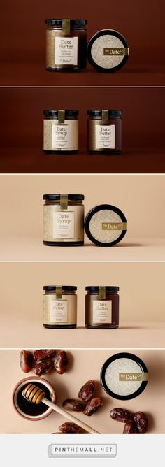 The Date Co - Packaging of the World - Creative Package Design Gallery - http://www.packagingoftheworld.com/2017/06/the-date-co.html