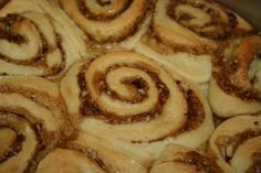Cinnamon Rolls..... The kicker use coconut flour instead of wheat flour to make them gluten free :o)
