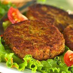 hamburguesas de lentejas y arroz - Cocina Eficaz