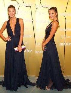 Malena Costa, con vestido de Cavalli y joyas de Rabat. #Prixmc http://www.marie-claire.es/prix/fotos/prix-de-la-moda-marie-claire-2013/malena-costa-5