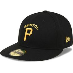 Bristol Pirates Authentic Collection Low Crown On-Field 59FIFTY Game Cap -  MLB.com 0fc56958a077