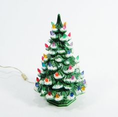 1970s Ceramic Christmas Tree by ohiopicker on Etsy, $38.00 been looking for one of these! I remember as a child my grandmother had one!