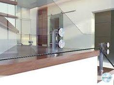 Resultado de imagem para guarda corpo de vidro e aço inox D. Single