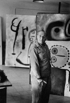 Miró by Henri Cartier-Bresson